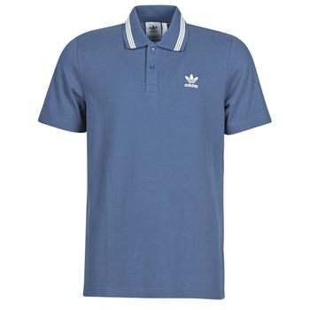 textil Hombre Polos manga corta adidas Originals PIQUE POLO Azul