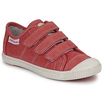 Zapatos Niños Zapatillas bajas Pataugas BISTRO Rojo