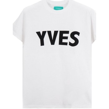 textil Hombre camisetas manga corta Backsideclub   Camiseta de Yves, Blanca   BSC_TH 107 YVES WHT blanc