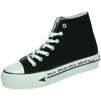 Zapatos Mujer Zapatillas altas B&w Zapatilla plataforma Negro