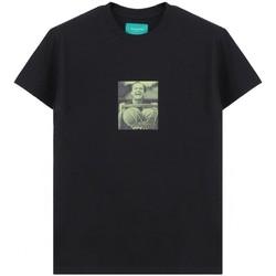 textil Hombre camisetas manga corta Backsideclub   Camiseta Jack, Negro   BSC_TH 116 JACK BLK Noir