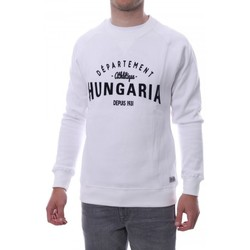 textil Hombre Sudaderas Hungaria  Blanco
