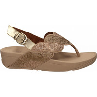 Zapatos Mujer Chanclas FitFlop PAISLEY ROPE BACK STRAP platino