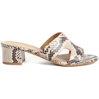 Zapatos Mujer Zuecos (Mules) Tiziana 1221 Beige