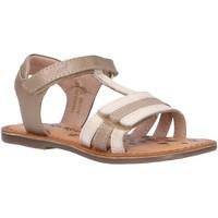 Zapatos Niña Sandalias Kickers 700963-30 DIAMANTO Blanco