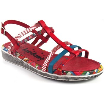 Zapatos Mujer Sandalias Jordana 2236 Rojo