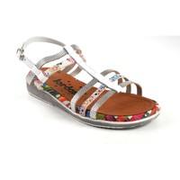 Zapatos Mujer Sandalias Jordana Sandalia señora  2236 blanco Blanco