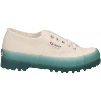 Zapatos Mujer Zapatillas bajas Superga 2555-ALPINA JELLYGUM COTU a0a-white-blue-lt-crysta