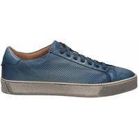 Zapatos Hombre Zapatillas bajas Santoni DERBY 7 OCC. FORGOOSE azzurro