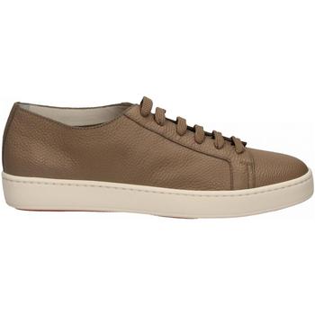 Zapatos Hombre Zapatillas bajas Santoni CLEANIC-MIA sabbia