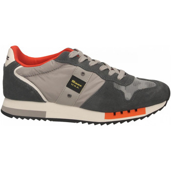 Zapatos Hombre Zapatillas bajas Blauer QUEENS01 grey