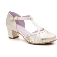 Zapatos Mujer Zapatos de tacón Gavi's Shoes Para Ella Zapatos de tacón bajo de piel by Gavis Doré