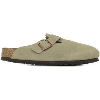Zapatos Hombre Zuecos (Clogs) Birkenstock Boston Bs Sfb Gris