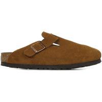 Zapatos Mujer Zuecos (Clogs) Birkenstock Boston Bs Sfb Marrón