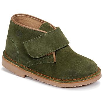 Zapatos Niño Botas de caña baja Citrouille et Compagnie NANUP Kaki