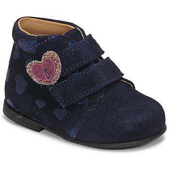 Zapatos Niña Botas de caña baja Citrouille et Compagnie NONUP Marino