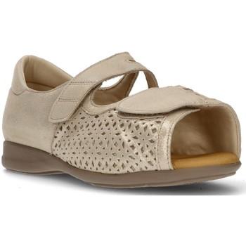 Zapatos Mujer Sandalias Calzamedi ORTOPEDICA TROQUELADA BEIGE
