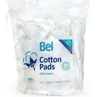 Belleza Desmaquillantes & tónicos Bel Cotton Pads 100% Algodón 8x10 Cm  200 uds