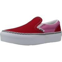 Zapatos Niña Slip on Vans VN0A3TL1WVX1 Rojo