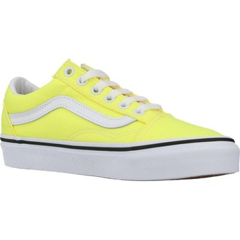 Zapatos Mujer Zapatillas bajas Vans UA OLD SKOOL Amarillo