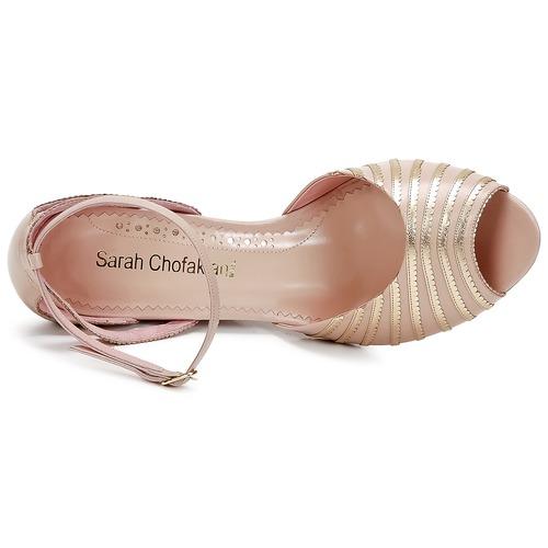 Sandalias Sarah Chofakian RosaDorado Sandalias Sarah mN0wvOy8n
