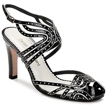 Zapatos Mujer Sandalias Sarah Chofakian WINGS Negro / DORADO