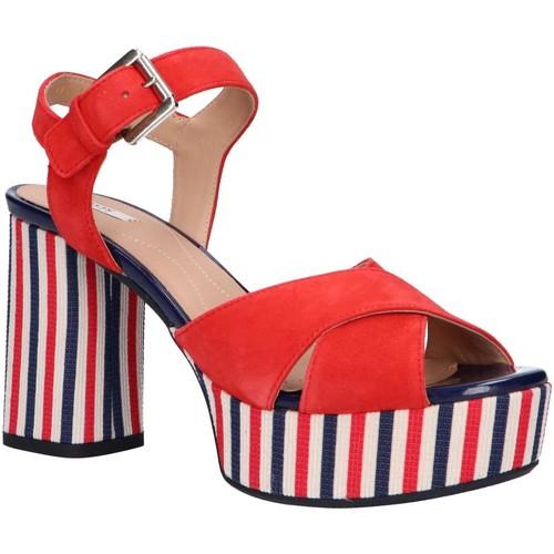 Zapatos Mujer Sandalias Geox D828WC 00021 D GALENE Rojo