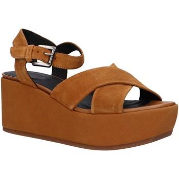 Zapatos Mujer Sandalias Geox D92CEB 00022 D ZERFIE Marr?n