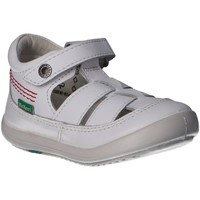 Zapatos Niño Derbie & Richelieu Kickers 784271-10 KITS Blanco