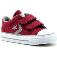 Zapatos Niños Zapatillas bajas Converse STAR PLAYER 2V OX 18 BURDEOS BURDEOS