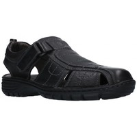 Zapatos Hombre Sandalias T2in R-2071 Hombre Negro noir