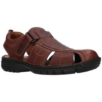 Zapatos Hombre Sandalias T2in R-2071 Cofee Hombre Marron marron