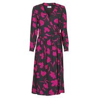 textil Mujer Vestidos largos Betty London NOLIE Negro / Rosa