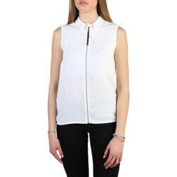 textil Mujer Camisas Armani jeans - 6y5c03_5ndhz Blanco