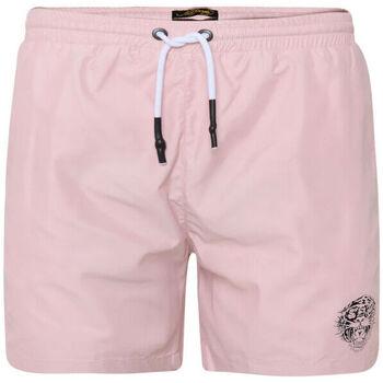 textil Hombre Bañadores Ed Hardy - Roar-head swim short dusty pink Rosa