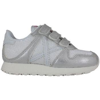 Zapatos Niños Zapatillas bajas Munich mini massana vco 8207332 Plata