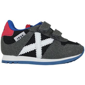 Zapatos Niños Zapatillas bajas Munich baby massana vco 8820326 Gris