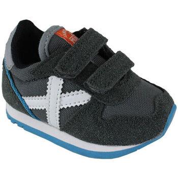 Zapatos Niños Zapatillas bajas Munich baby massana vco 8820349 Gris
