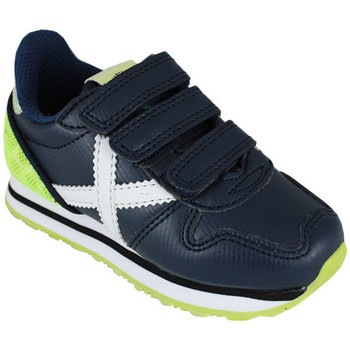 Zapatos Niños Zapatillas bajas Munich mini massana vco 8207355 Azul