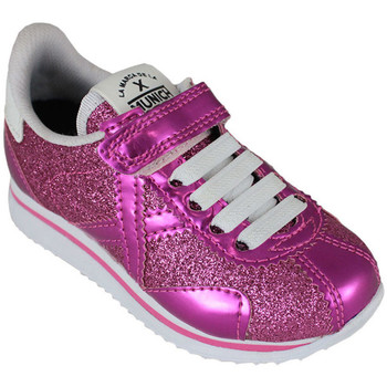 Zapatos Niña Zapatillas bajas Munich mini sapporo vco 8430070 Rosa