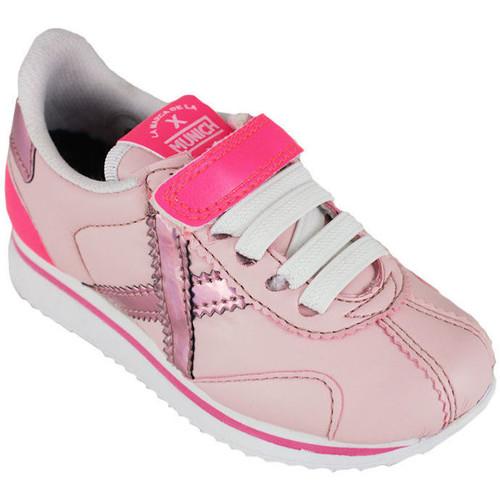 Zapatos Niña Zapatillas bajas Munich mini sapporo vco 8430073 Rosa