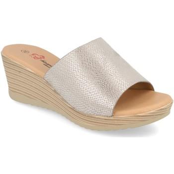 Zapatos Mujer Zuecos (Mules) Camelia A18 Plata