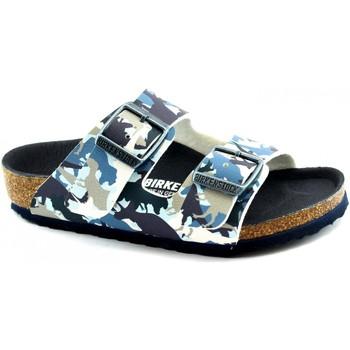 Zapatos Niño Zuecos (Mules) Birkenstock BIR-RRR-1012682-BL Blu