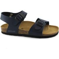 Zapatos Niño Sandalias Grunland GRU-RRR-SB1206-BL-b Blu