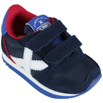 Zapatos Niños Zapatillas bajas Munich baby massana vco 8820376 Azul