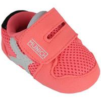 Zapatos Niños Pantuflas para bebé Munich zero 8240031 Rosa