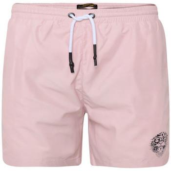 textil Hombre Bañadores Ed Hardy Roar-head swim short dusty pink Rosa