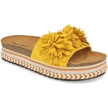 Zapatos Mujer Zuecos (Mules) Ainy 9420 Amarillo