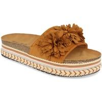 Zapatos Mujer Zuecos (Mules) Ainy 9420 Camel