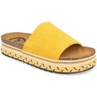 Zapatos Mujer Zuecos (Mules) Woman Key CZ-10095 Amarillo